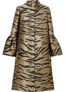 Carolina Herrera Tiger-jacquard Coat