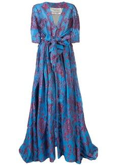 Carolina Herrera twist-tie evening gown
