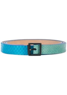 Carolina Herrera two-tone belt