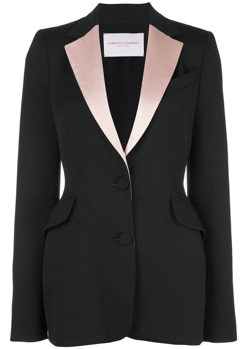 Carolina Herrera two-tone blazer