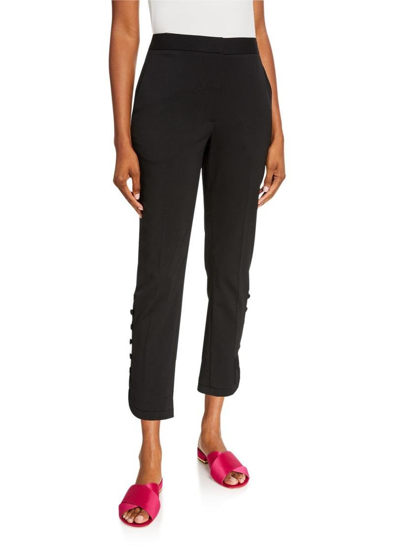 Carolina Herrera Wool Capri Pants
