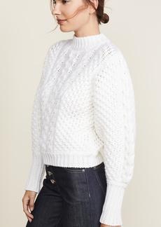 Caroline Constas Chunky Knit Sweater