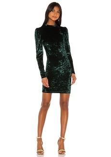 Caroline Constas Lulu Velvet Mini Dress