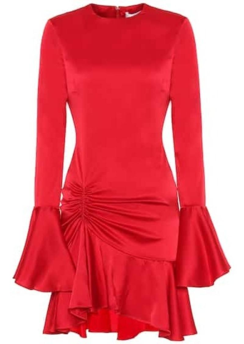 Caroline Constas Exclusive to Mytheresa – Monique silk-satin minidress