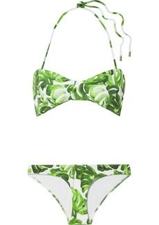 Caroline Constas Kali Printed Halterneck Bikini