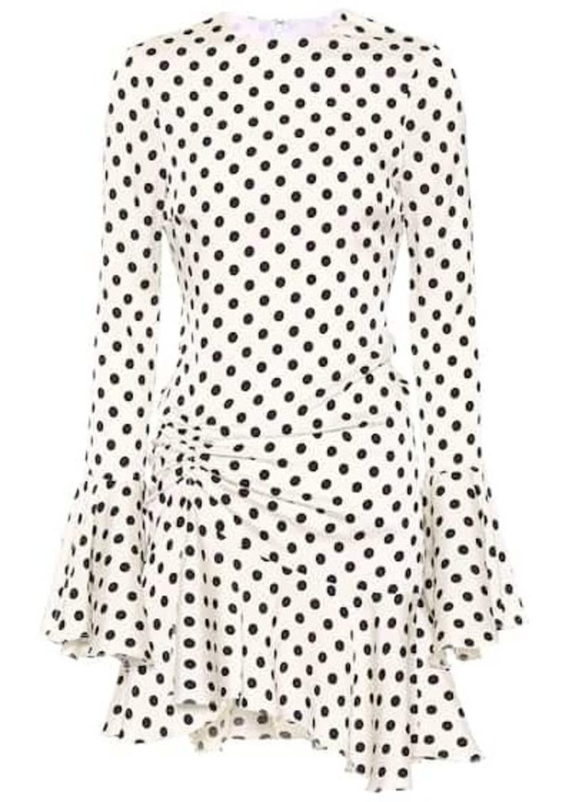 32e4f3d8bc4 Caroline Constas Monique polka-dot silk-blend dress | Dresses