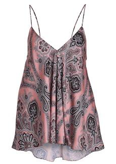 Caroline Constas Paisley Silk Camisole