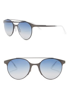 Carrera 50mm Round Sunglasses