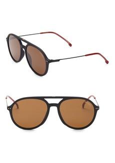 Carrera 53MM Aviator Sunglasses