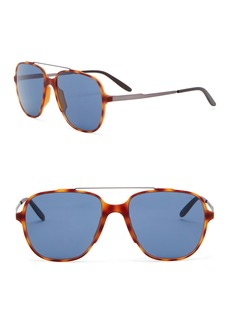 Carrera 55mm Ultralight Aviator Sunglasses