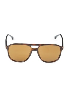Carrera 56MM Aviator Sunglasses