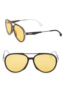 Carrera 56MM Aviator Sunglasses