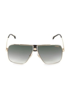 Carrera 58MM Aviator Sunglasses
