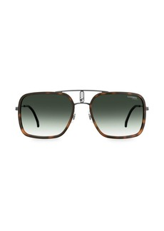 Carrera 59MM Aviator Sunglasses
