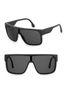 Carrera 99MM Flagtop II Shield Sunglasses