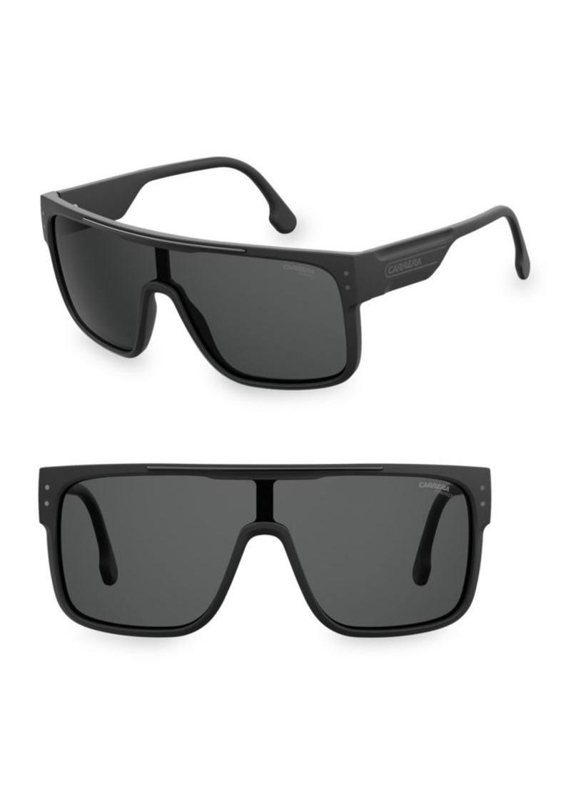 fb64708cca81e Carrera 99MM Flagtop II Shield Sunglasses