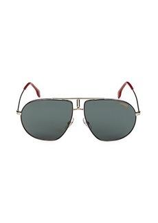 Carrera Bound 60MM Aviator Sunglasses