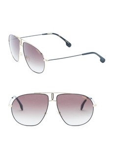 Carrera Bound 62MM Aviator Sunglasses