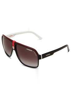 Carrera 33/S Aviator Sunglasses BLACK CRY WHITE