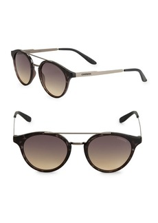 Carrera 49MM Round Sunglasses
