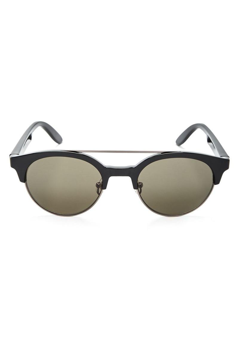Carrera Men's Round Double Bridge Sunglasses, 50mm