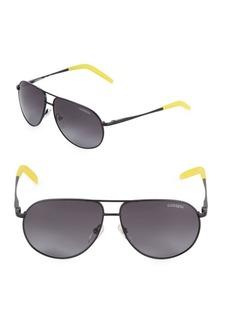 Carrera 55MM Aviator Sunglasses