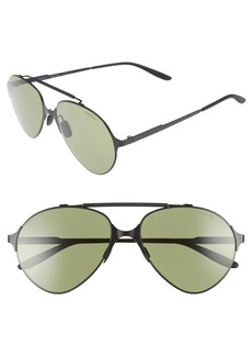 Carrera 58mm Gradient Pilot Sunglasses