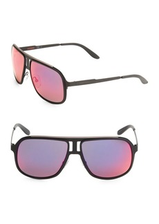 Carrera 59MM Carrera 101 Aviator Sunglasses
