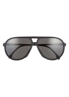 Carrera 61mm Aviator Sunglasses
