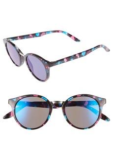 Carrera Eyewear 49mm Round Sunglasses