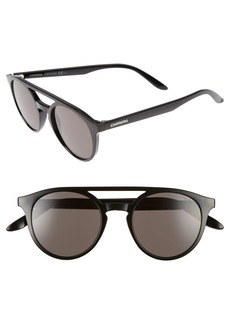 Carrera Eyewear 49mm Round Sunglasses