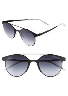 Carrera Eyewear 50mm Gradient Round Sunglasses