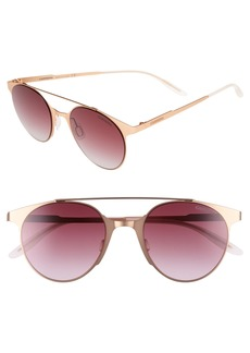 Carrera Eyewear 50mm Gradient Round Sunglasses