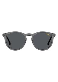 Carrera Eyewear 50mm Teen Round Sunglasses