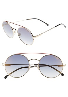 Carrera Eyewear 51mm Round Sunglasses