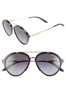 Carrera Eyewear 54mm Aviator Sunglasses