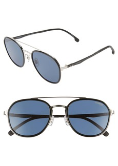Carrera Eyewear 54mm Round Sunglasses