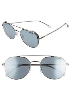 Carrera Eyewear 56mm Polarized Aviator Sunglasses