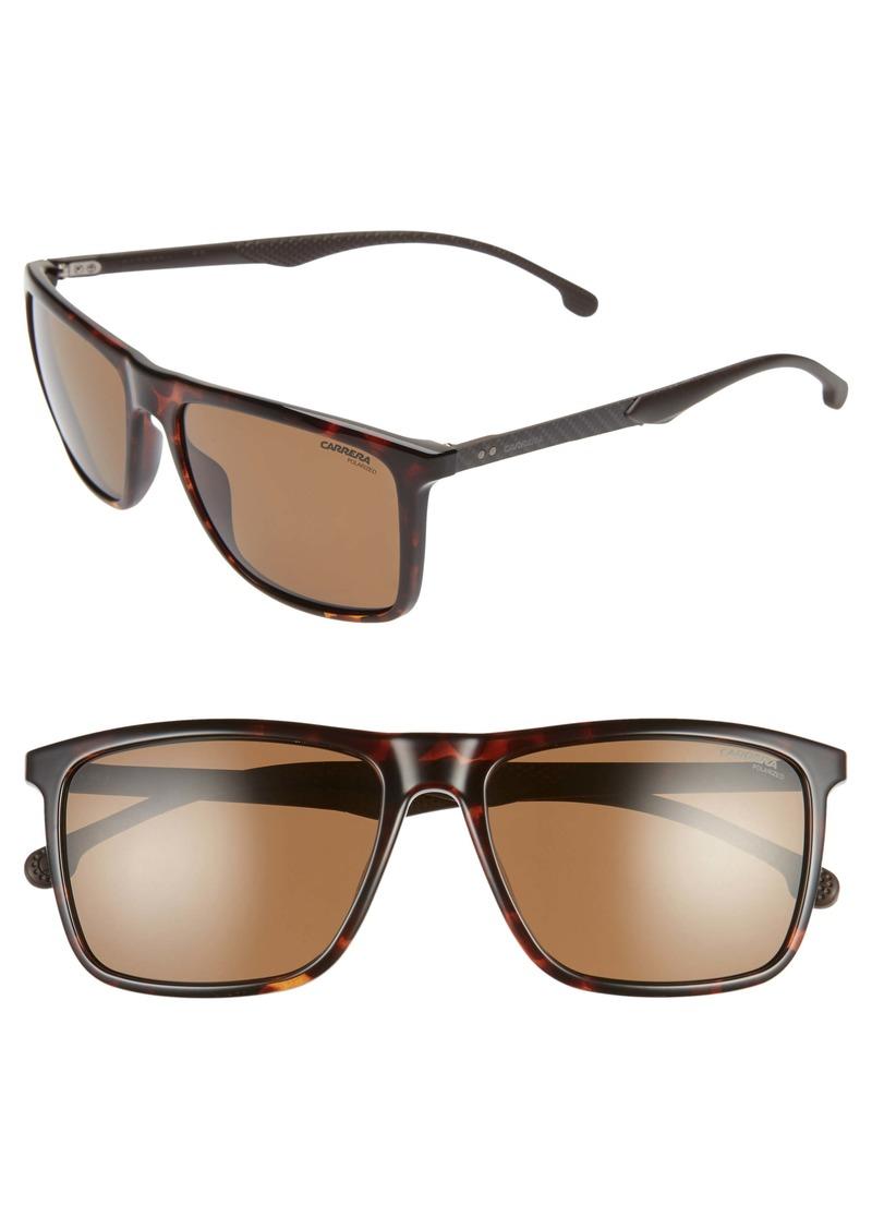 Carrera Eyewear 57mm Polarized Sunglasses