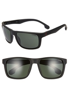 Carrera Eyewear 57mm Wrap Sunglasses