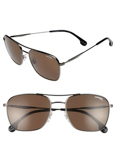 Carrera Eyewear 58m Polarized Sunglasses