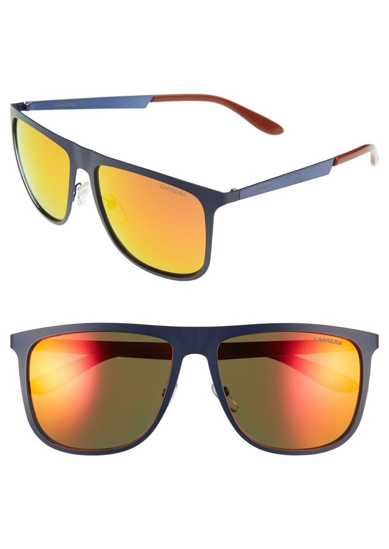 Carrera Eyewear 58mm Mirrored Retro Sunglasses