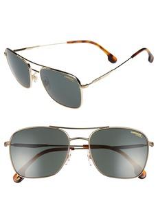 Carrera Eyewear 58mm Navigator Sunglasses