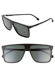 Carrera Eyewear 58mm Rectangle Sunglasses