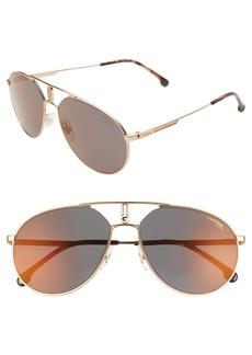 Carrera Eyewear 59mm Aviator Sunglasses