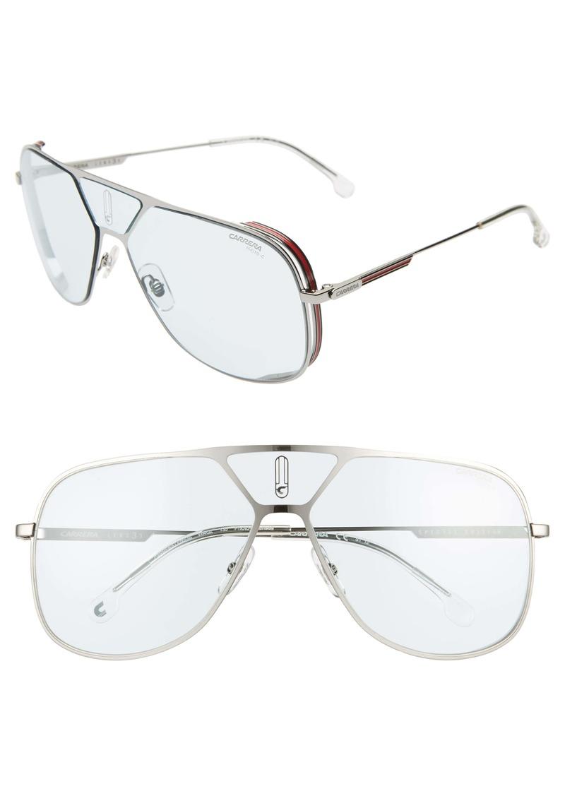 Carrera Eyewear 60mm Polarized Navigator Sunglasses