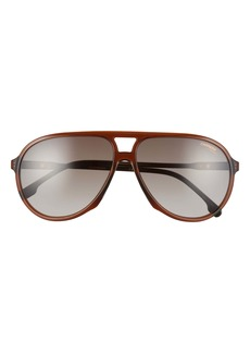 Carrera Eyewear 61mm Aviator Sunglasses