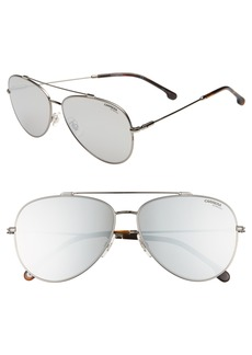 Carrera Eyewear 62mm Aviator Sunglasses