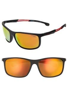 Carrera Eyewear 62mm Wrap Sunglasses
