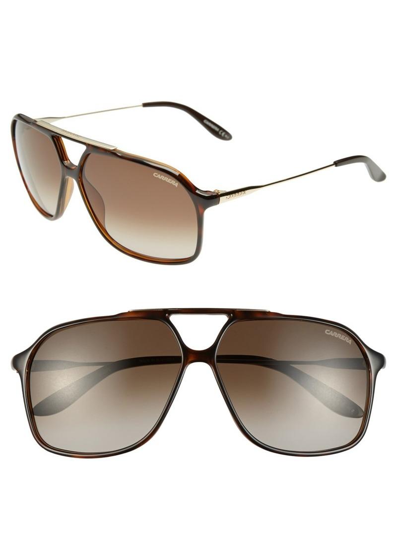 Carrera Eyewear 63mm Navigator Sunglasses